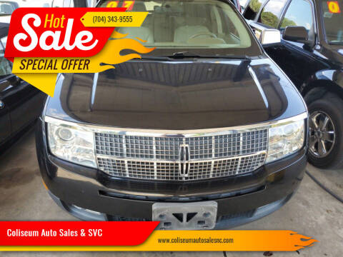 2007 Lincoln MKX for sale at Coliseum Auto Sales & SVC in Charlotte NC