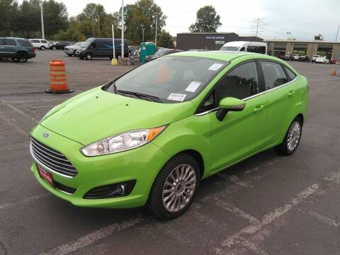 2015 Ford Fiesta for sale at A.I. Monroe Auto Sales in Bountiful UT