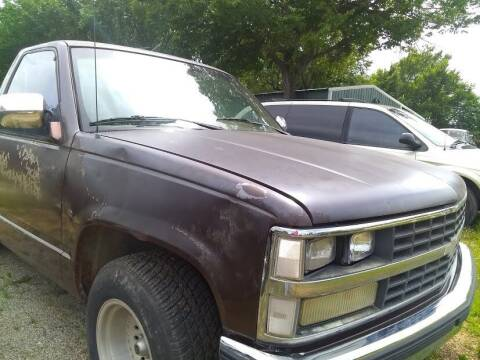 1988 Chevrolet C/K 1500 Series for sale at C & R Auto Sales in Bowlegs OK