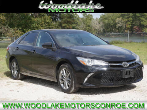 2015 Toyota Camry for sale at WOODLAKE MOTORS in Conroe TX