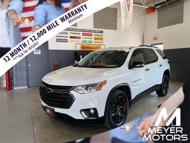 2019 Chevrolet Traverse for sale at Meyer Motors in Plymouth WI