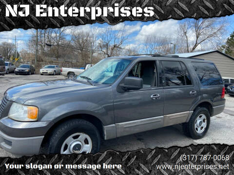 2003 Ford Expedition for sale at NJ Enterprises in Indianapolis IN
