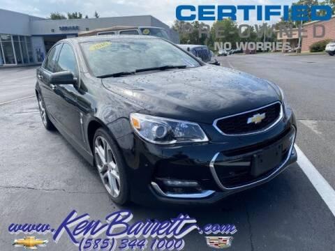 2016 Chevrolet SS for sale at KEN BARRETT CHEVROLET CADILLAC in Batavia NY