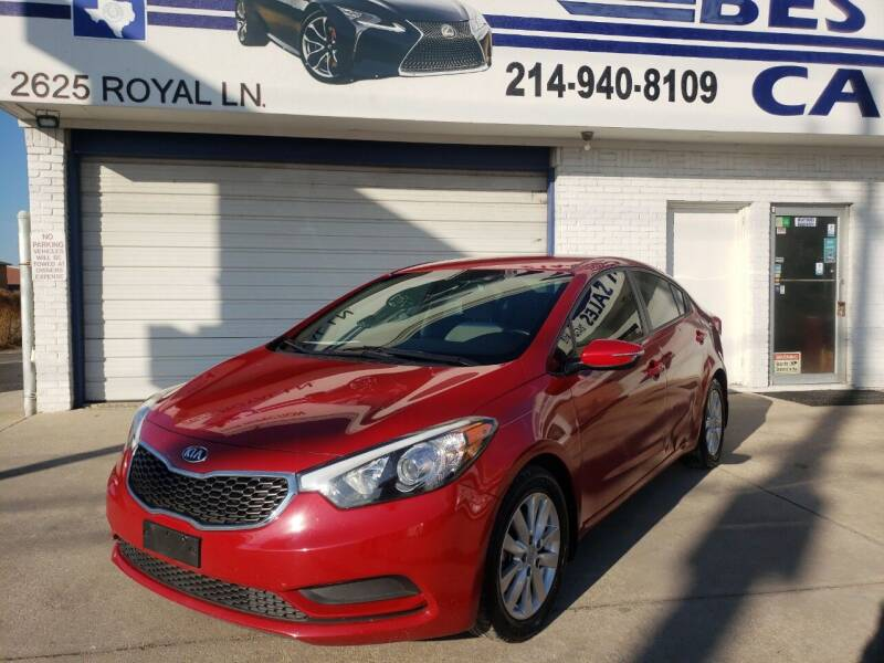 2014 Kia Forte for sale at Best Royal Car Sales in Dallas TX