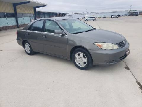 2002 Toyota Camry for sale at BROTHERS AUTO SALES in Eagle Grove IA
