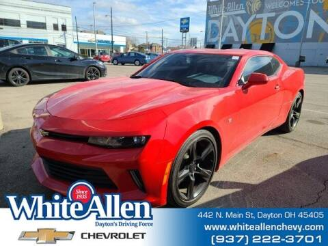 2017 Chevrolet Camaro for sale at WHITE-ALLEN CHEVROLET in Dayton OH