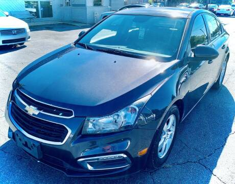 2015 Chevrolet Cruze for sale at RD Motors, Inc in Charlotte NC