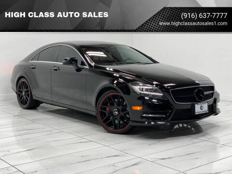 2014 Mercedes-Benz CLS for sale at HIGH CLASS AUTO SALES in Rancho Cordova CA
