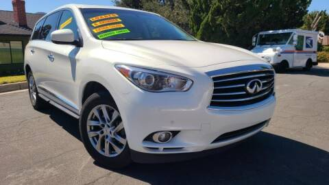 2013 Infiniti JX35 for sale at CAR CITY SALES in La Crescenta CA