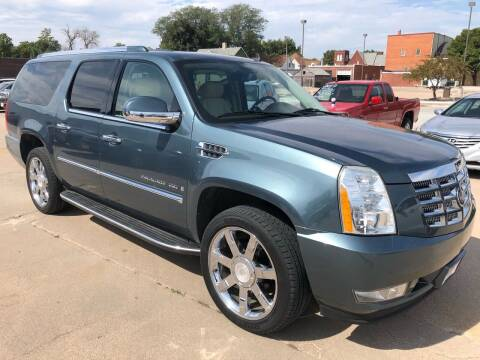 2008 Cadillac Escalade ESV for sale at Spady Used Cars in Holdrege NE