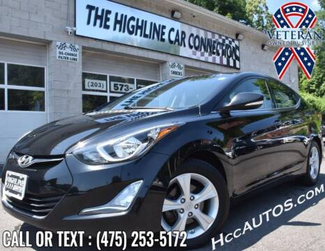 2016 Hyundai Elantra for sale at The Highline Car Connection in Waterbury CT