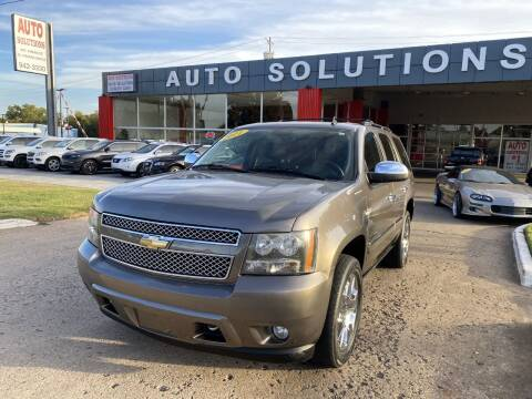 2011 Chevrolet Tahoe for sale at Auto Solutions in Warr Acres OK