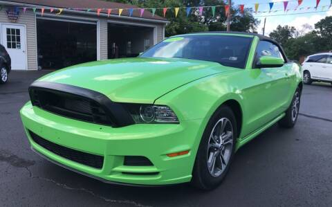 2014 Ford Mustang for sale at Baker Auto Sales in Northumberland PA