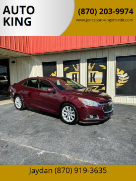 2015 Chevrolet Malibu for sale at AUTO KING in Jonesboro AR