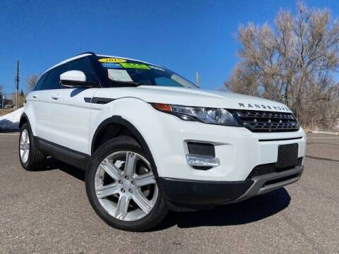 2015 Land Rover Range Rover Evoque for sale at UNITED Automotive in Denver CO