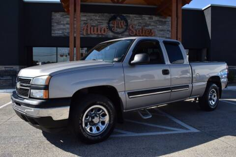 2007 Chevrolet Silverado 1500 Classic for sale at JW Auto Sales LLC in Harrisonburg VA