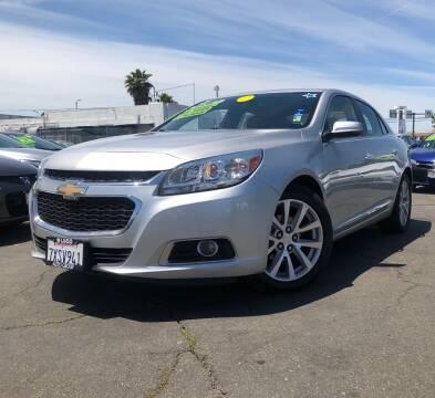 2015 Chevrolet Malibu for sale at LUGO AUTO GROUP in Sacramento CA