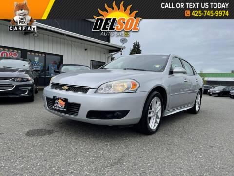 2013 Chevrolet Impala for sale at Del Sol Auto Sales in Everett WA