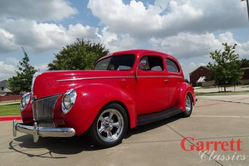 1940 Ford Tudor for sale at Garrett Classics in Lewisville TX
