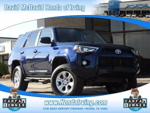 2017 Toyota 4Runner for sale at DAVID McDAVID HONDA OF IRVING in Irving TX