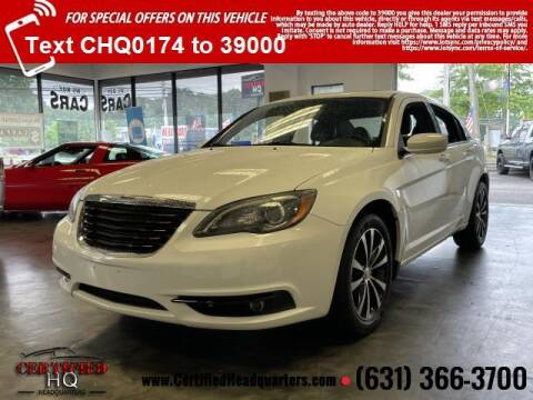 2012 Chrysler 200 for sale at CERTIFIED HEADQUARTERS in Saint James NY