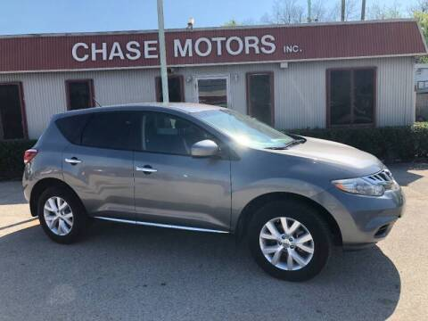2014 Nissan Murano for sale at Chase Motors Inc in Stafford TX