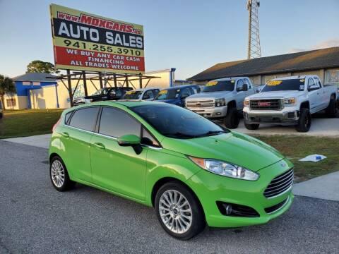 2014 Ford Fiesta for sale at Mox Motors in Port Charlotte FL