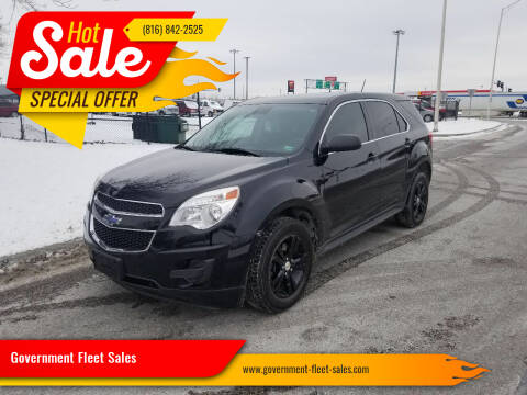 2015 Chevrolet Equinox for sale at Government Fleet Sales in Kansas City MO