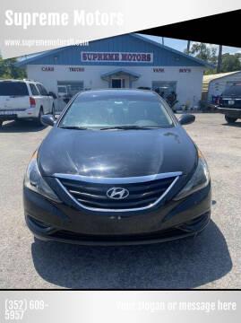 2013 Hyundai Sonata for sale at Supreme Motors in Tavares FL