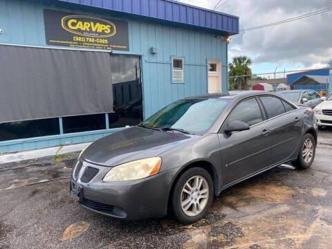 2006 Pontiac G6 for sale at CAR VIPS ORLANDO LLC in Orlando FL