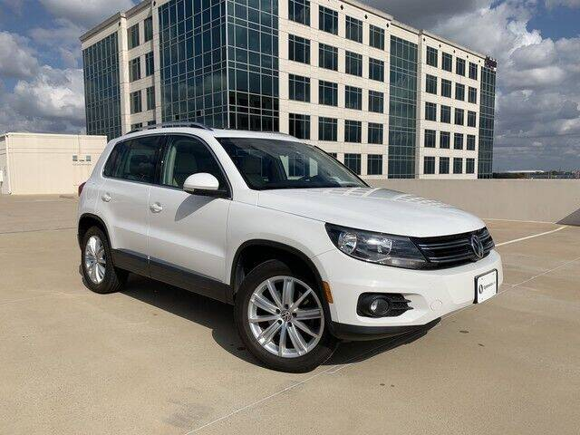2013 Volkswagen Tiguan for sale at SIGNATURE Sales & Consignment in Austin TX