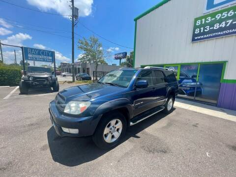 2003 Toyota 4Runner for sale at Bay City Autosales in Tampa FL