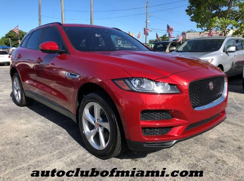 2017 Jaguar F-PACE for sale at AUTO CLUB OF MIAMI in Miami FL