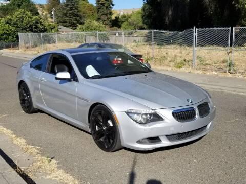 2010 BMW 6 Series for sale at Gateway Motors in Hayward CA