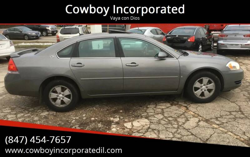 2006 Chevrolet Impala for sale at Cowboy Incorporated in Waukegan IL
