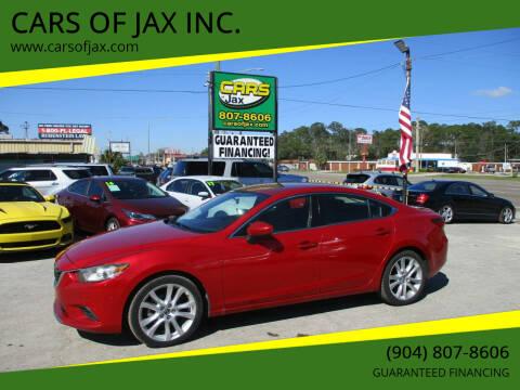 2014 Mazda MAZDA6 for sale at CARS OF JAX INC. in Jacksonville FL