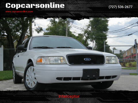 2009 Ford Crown Victoria for sale at Copcarsonline in Largo FL