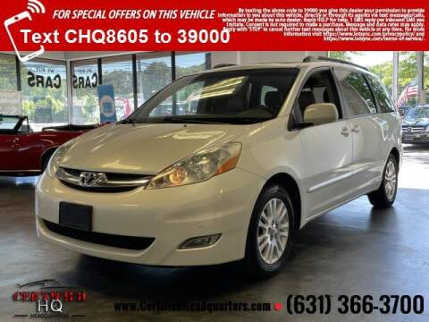 2008 Toyota Sienna for sale at CERTIFIED HEADQUARTERS in Saint James NY