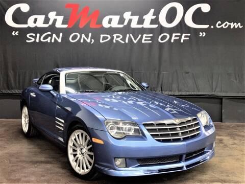 2005 Chrysler Crossfire SRT-6 for sale at CarMart OC in Costa Mesa CA