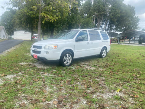 2008 Chevrolet Uplander for sale at Hill Country Auto Sales in Maynard AR
