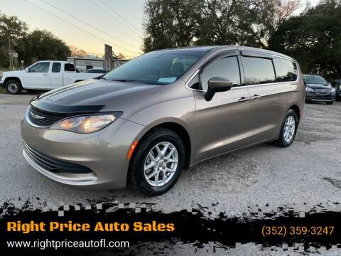2017 Chrysler Pacifica for sale at Right Price Auto Sales-Gainesville in Gainesville FL