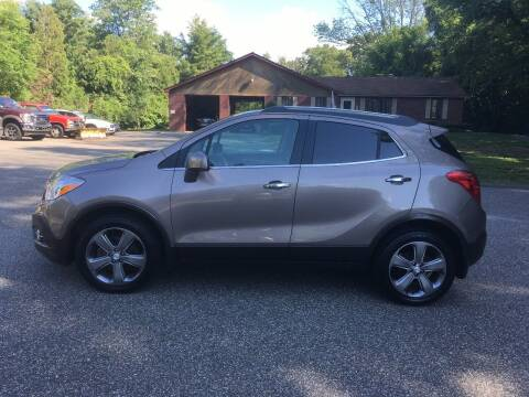 2013 Buick Encore for sale at Lou Rivers Used Cars in Palmer MA