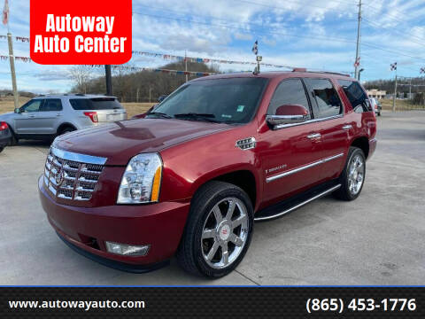 2008 Cadillac Escalade for sale at Autoway Auto Center in Sevierville TN