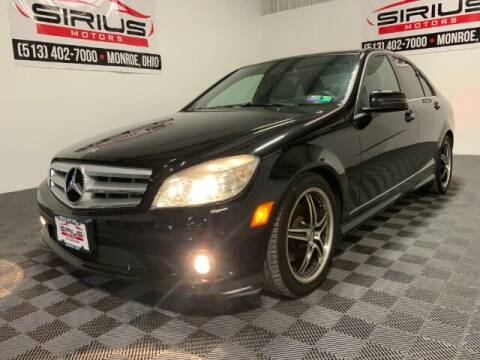 2010 Mercedes-Benz C-Class for sale at SIRIUS MOTORS INC in Monroe OH