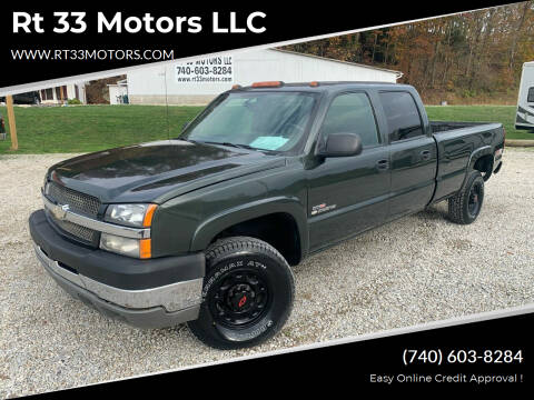 2004 Chevrolet Silverado 2500HD for sale at Rt 33 Motors LLC in Rockbridge OH