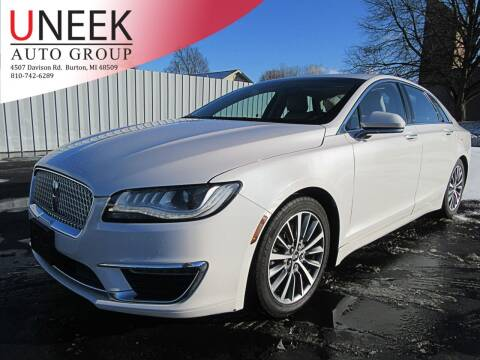 2017 Lincoln MKZ Hybrid for sale at Uneek Auto Group LLC in Burton MI