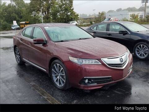 2015 Acura TLX for sale at BOB ROHRMAN FORT WAYNE TOYOTA in Fort Wayne IN