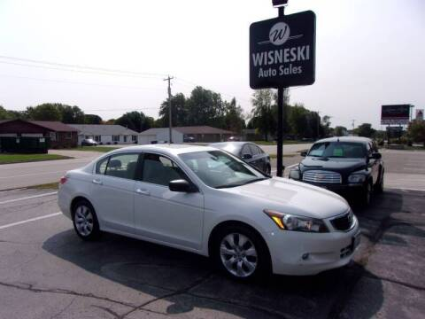2008 Honda Accord for sale at Wisneski Auto Sales, Inc. in Green Bay WI