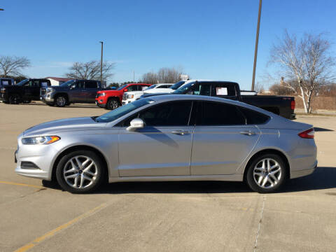 2015 Ford Fusion for sale at LANDMARK OF TAYLORVILLE in Taylorville IL