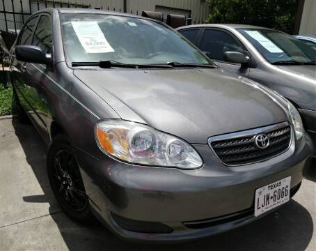 2007 Toyota Corolla for sale at TEXAS MOTOR CARS in Houston TX